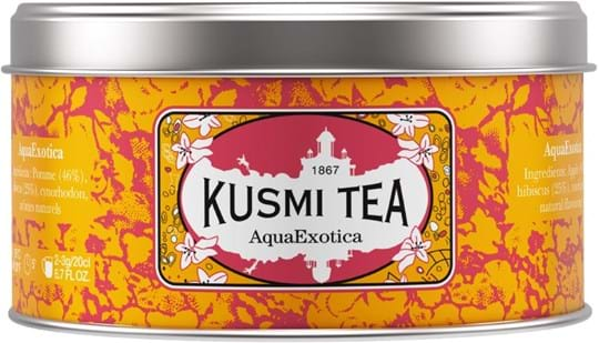 Kusmi Tea Black / Green / Fruit Tea Tea in metal tin