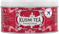 Kusmi Tea FRENCH CANCAN - TRAVEL EXCLUSIVE : Four red berries-flavoured black tea - 125G Metal tin