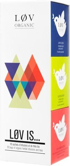 Løv Organic Løv is gavesæt - 3 x 6 teposer økologisk