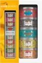 Kusmi Tea Gift set containing 5 miniatures of flavoured teas and herbal tea + infuser spoon