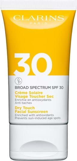 Clarins Sun Care Face Dry Touch Facial Sunscreen SPF 30 50 ml