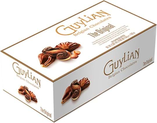 Guylian Seashells golden gavepakke + bånd 250g