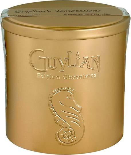 Guylian Nice golden Tin with look through sticker