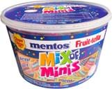Mentos Mix of Mini Silo 600g