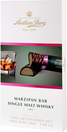 Anthon Berg Marzipan Bar Whisky 280g