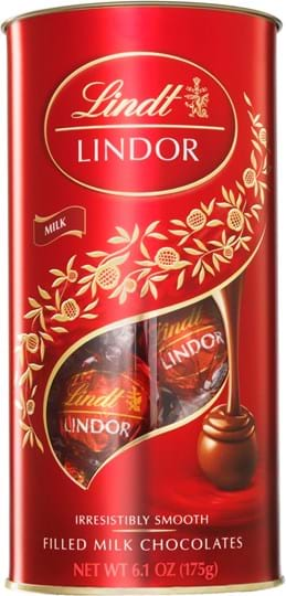 Lindt Lindor Lindor Milk Mini Tube 175g