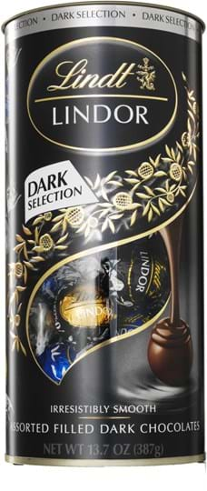 Lindor Dark Selection 387g