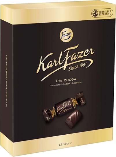 Karl Fazer 70% Dark Chocolates 250g