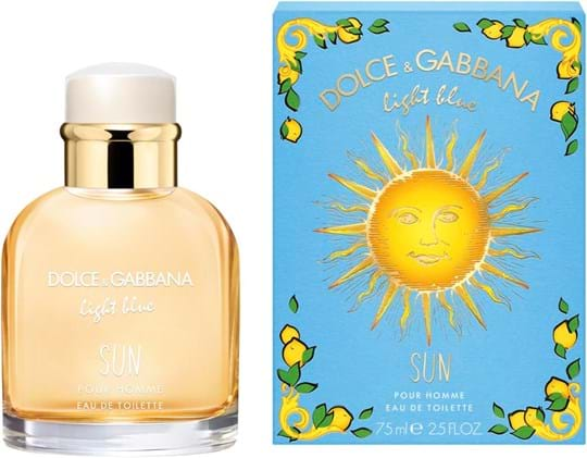 Dolce & Gabbana Light Blue Pour Homme Light Blue Pour Homme Summer edt Spray 75 ml