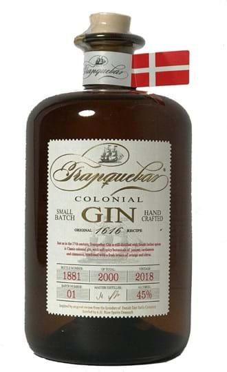 Tranquebar Colonial Gin 45 % 0,7L