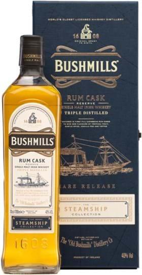 Bushmills Steamship Rum Cask 40 % 0,7L, GP