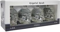 Crystal Head Vodka 40% 4x0.05L Minipack