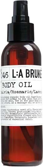 L:A BRUKET 046 Bodyoil Sage/Rosemary/Lavender