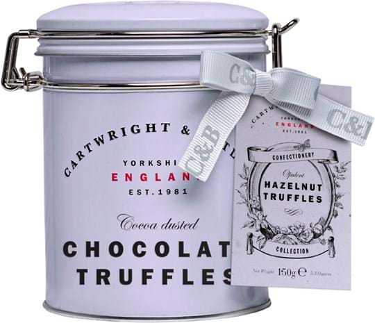 Cartwright & Butler Chocolate truffles with hazelnut