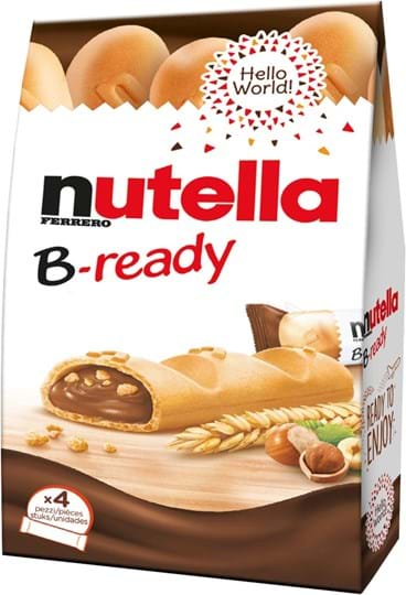 Nutella B-Ready 4 sticks