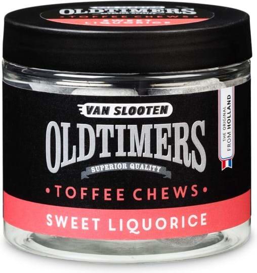 Van Slooten Toffee chews with sweet liquorice flavor
