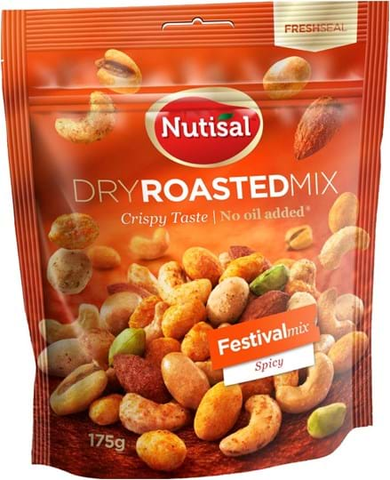 Nutisal dry roasted Nutmix Festival Mix