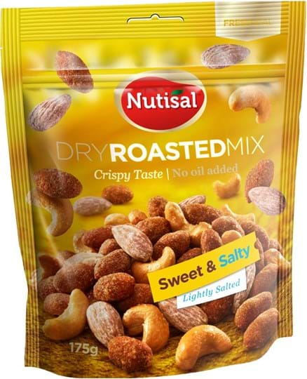 Nutisal dry roasted Nutmix Sweet and Salty