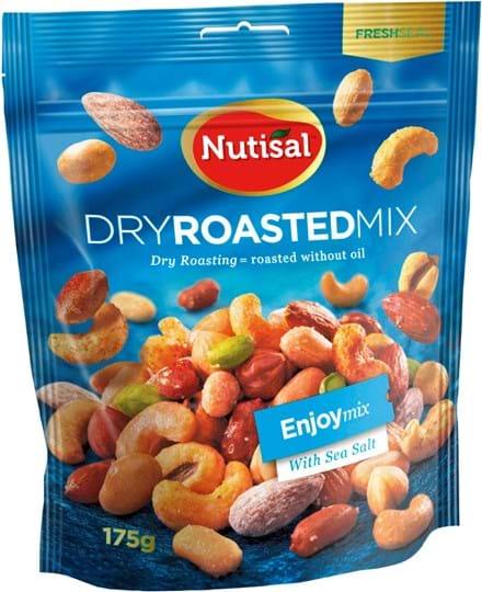 Nutisal dry roasted Nutmix Enjoy Mix