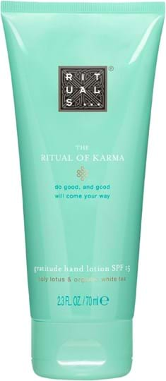 Rituals Cosmetics Karma-håndlotion SPF 15 70 ml