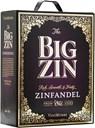 The Big Zin, Zinfandel Old Vines, Apulien, tør, rød (bag in box) 3L