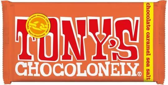 Tony's chocolate with caramel
