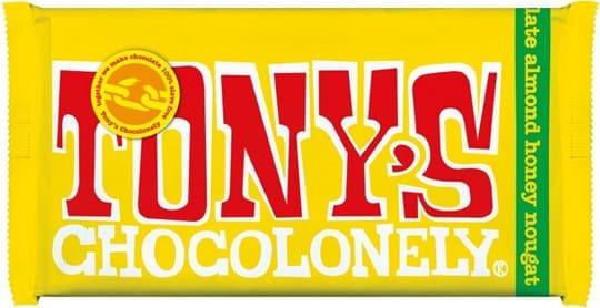 Tony's Chocolate with nougat