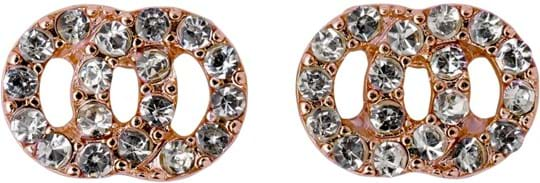 "Pilgrim Earring ""Victoria_PI"", ref.: 601514053, trade line: Classic, colour: rose gold plated, material:30% crystal, 1% plating, 6% steel, 63% zinc"