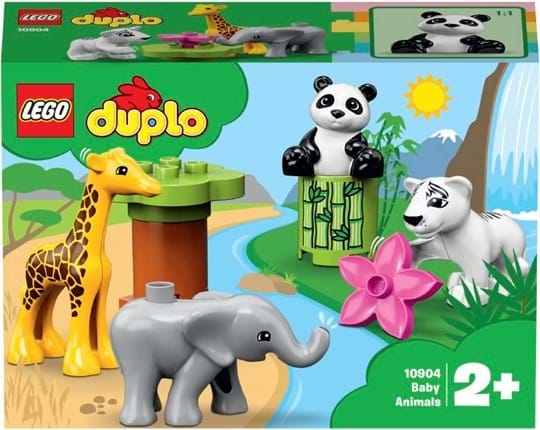 Lego Baby Animals toy, ref.: 10904, trade line: DUPLO Town, material:100% plastic