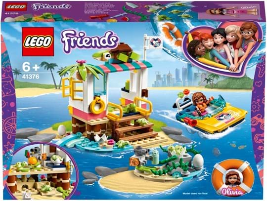 LEGO, LEGO Friends, turtles rescue mission