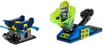 LEGO, Ninjago, spinjitzu slam - jay