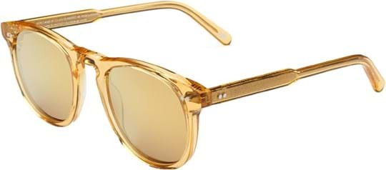 Chimi Sunglasses with a frame made of acetate in yellow and lenses made of plastic in yellow