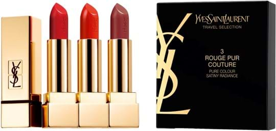 Yves Saint Laurent Rouge pur Couture Lipstick Trio 15 g