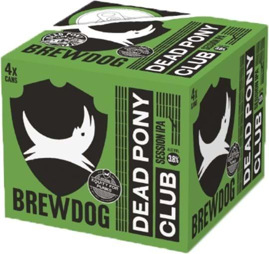 Brewdog Dead Pony 4x0,33L dåse