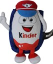 Kinder Plush filled with Kinder chocolate 150g