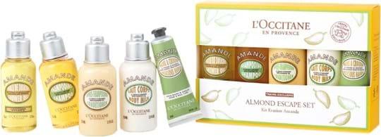 L'Occitane en Provence All About Almond Set cont.: Shower Oil 75 ml + Body Lotion 75 ml + Shampoo 75 ml + Conditioner 75 ml + Hand Cream (GH 1022321)