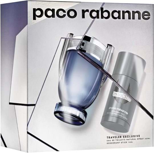 Paco Rabanne Invictus Set cont.: Eau de Toilette 100 ml (GH 1044139) + Deostick 75 g (for free)