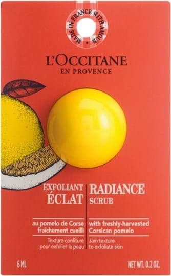 L'Occitane en Provence Infusions Radiance Scrub 6 ml