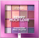 L'Oréal Paris Paradise Eye Shadow Set N° 02 Berry Much Love 34 g