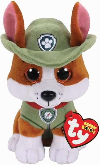 Ty unisex Plush, ref.: 41299, trade line: Paw Patrol, material:polyester fibre and plastic beads