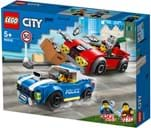 Lego, City Police, police highway arrest