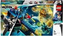 Lego, Hidden Side, el fuego's stunt plane