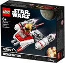 Lego, Star Wars, resistance y-wing microfighter