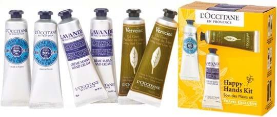 L'Occitane en Provence Karite-Shea Butter Set cont.: 2x Shea Hand Cream 30 ml (GH 650678) + 2x Lavender Hand Cream 30 ml (GH 1244875) + 2x Verbena Hand Cream 30 ml