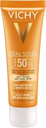 Vichy Ideal Soleil 3-in-1 Tinted Anti-Dark Spots Care SPF50
