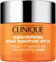 Clinique Moisturizers Superdefense SPF 25 Fatigue 1St Signs Of Age Multi-Correcting Cream Types 3&4 50 ml