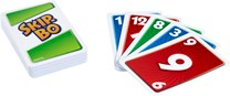 Mattel Games, skip-bo card game display - europe