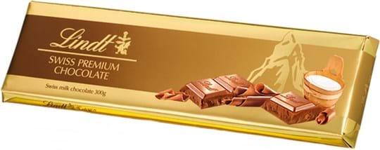 Lindt Tablet Gold Milk 300g