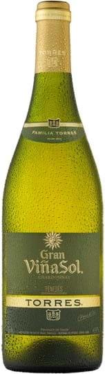 Torres, Gran Viña Sol, Chardonnay, DO, Penedès, tør, hvid, 0,75L