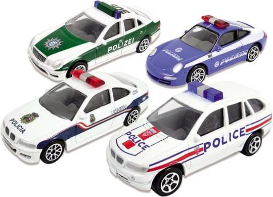 Premier Portfolio 4 Piece Police Cars of the World Set
